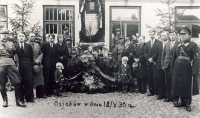 Uroczystość patriotyczna 1935