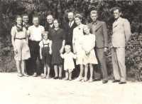 Rodzina Borczyków z niemieckimi inżynierami