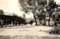 Zburzony most na Warcie